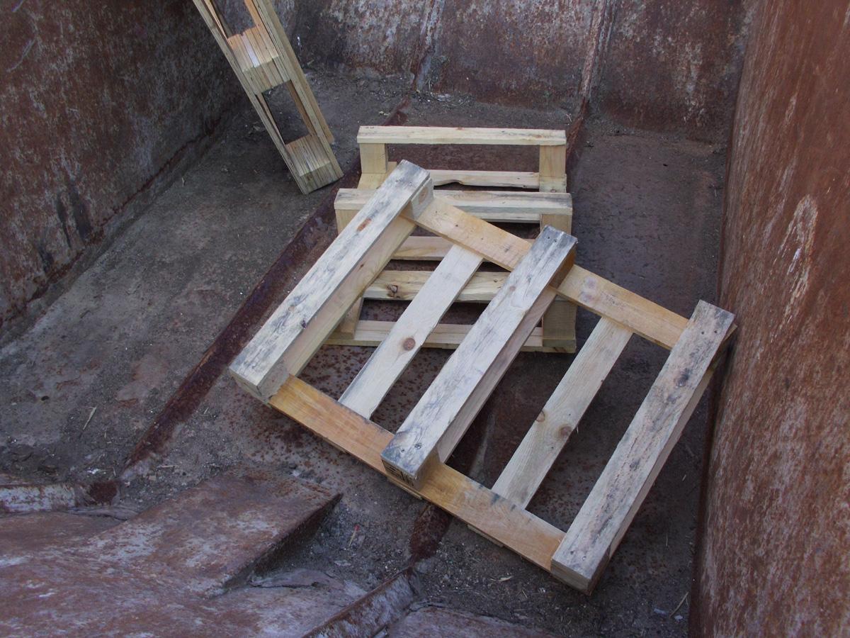 Holzentsorgung, unbehandelt - 1,5 m³